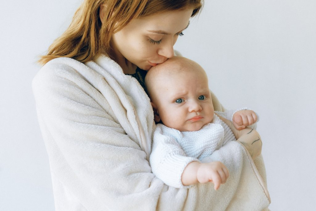mãe bebê recém nascido baby blues depressão pós-parto